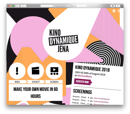 Screenshot: Kino Dynamique Jena